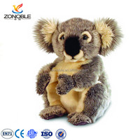 China factory top selling koala bear plush toy cuddly stuffed koala soft toy