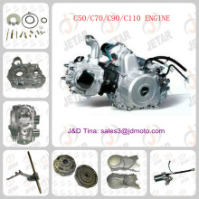 wholesale motorcycle engine 1P47FMD Horizontal engine 70cc, 4 Stroke