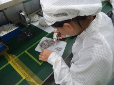 Epoxy Injection & Fiber Tube Assembling