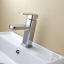 UPC Polished and Chrome Plating Bathroom Hot Cold Water Mixer Tap