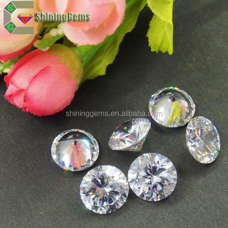 super shining white DEF fake diamond gia certified loose diamonds