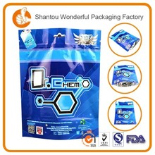 Superior quality vertical plastic fish cracker snack packaging bag for promotional