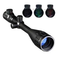 Tactical 6 24x50 AOE rifle scopes Red Green Dot optics sight riflescopes hunting air gun weapons scope long range rifle scope