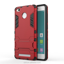 For Redmi 3 Pro Case, High Quality TPU PC Kickstand Mobile Phone Case For