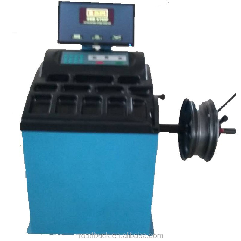 motorcycle wheel balance machine/tire balance machine used/ car balancer machine prices
