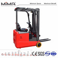 MIMA curve control technology for electric counter balance forklift