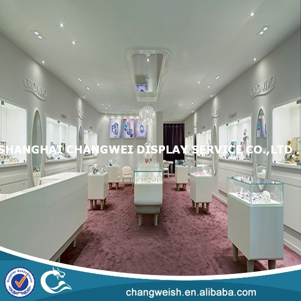 painting wood display cases for jewelry,jewelry display design