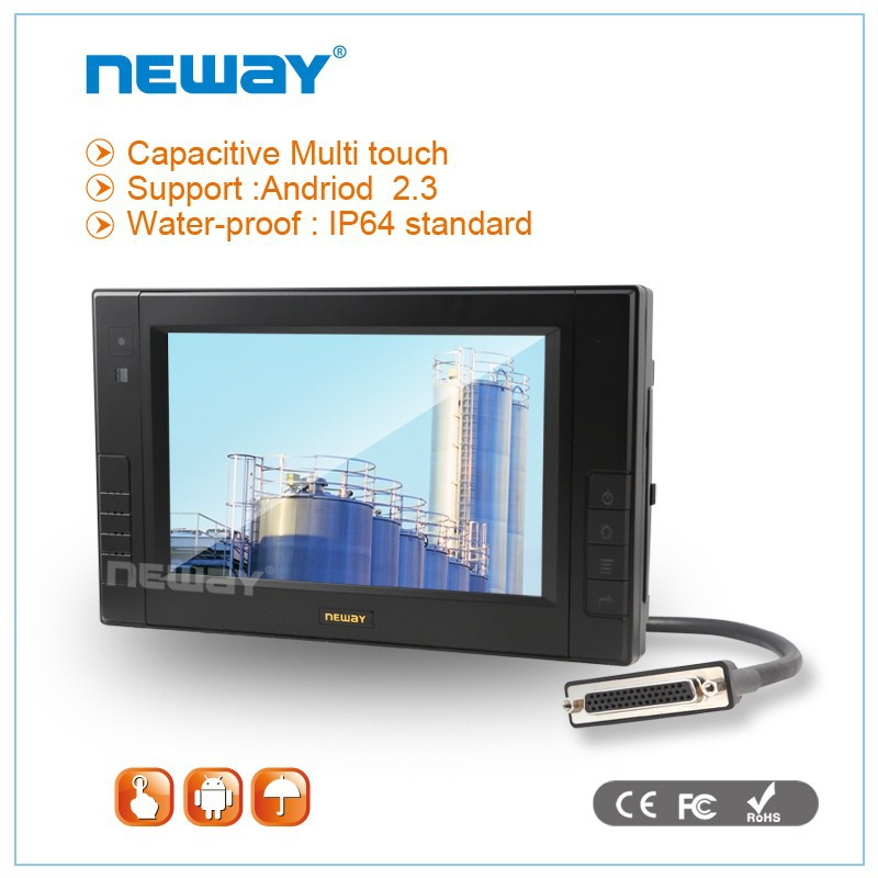 7 inch GPS 3G CAN DC24V winCE tablet PC
