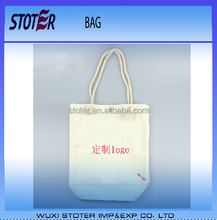 factory directly custom printing foldable canvas shopping bag