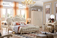 Home bedroom solid wood suite furniture for sale