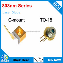2w 808nm laser diode C-mount
