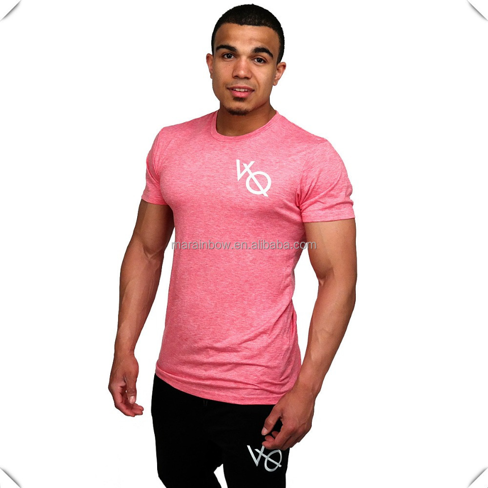Wholesale Fitness T Shirts Clothing Custom For Men Gym