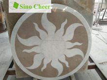 Water Jet Medallion Thin Laminated Water-jet Medallions Water Jet Marble Designs Marble Price