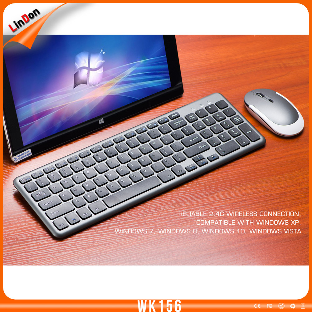 Latest folding 2.4 wireless bluetooth mouse and keyboard portable WK156 keyboard