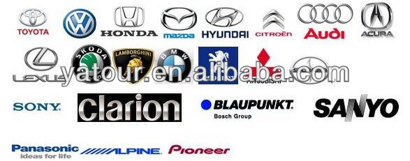VW/Toyot/Maz/Suz/Peugeot/Renault bluetooth car kit yt-bta