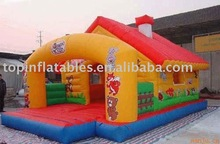 jumping castle inflatable/commercial bouncy castles pvc
