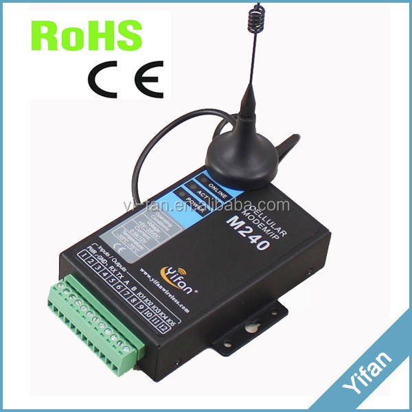 M240 series Serial to GPRS modem for automatic Meter Reading