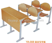 Good quality cheap student desk and bench school furniture(YA-008)