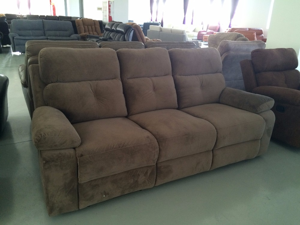 Italian office furniture manufacturers list popular fabric sofa set with recliner