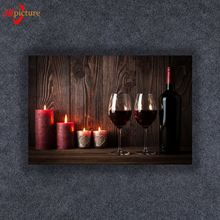 Latest pictures for fabric painting candle with led canvas light for holiday gift wholesale