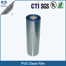 Normal clear plastic PVC heat shrink packaging film