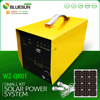 off grid system small kits 12Vdc portable solar power system for home lighting