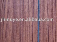 Wood Grain Slotted plywood, Grooved Paper Overlaid Plywood