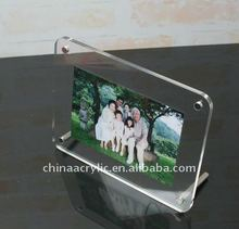 2012 funny acrylic photo frame with screws