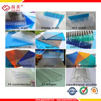 2015 High Quality Transparent Polycarbonate Sheet