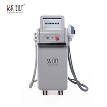E-light ipl+ rf+nd yag laser /SHR remove hair permanently multifunctional beauty machine