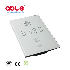 Latest Technology Hotel Electronic Door Plates