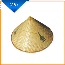 Sun-proof Chinese Bamboo Waterproof Straw Hat for Farmer