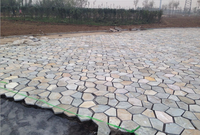 coverings in slate meshed stone for external cheap prices