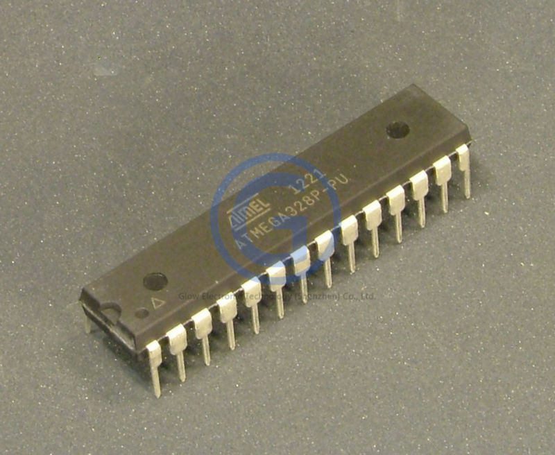 ATMEL integrated circuit ics 20mhz 8bit Microcontroller ATMEGA328 ATMEGA328P ATMEGA328P-PU DIP-28 with 32kb flash