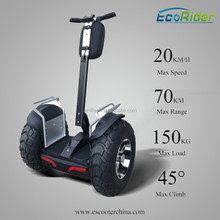 Golf style two wheel self balancing electric chariot, hoverboard scooter