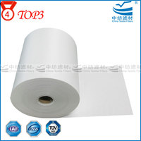 Qualitative Lab 1-10 Micron Activated Carbon Hepa Fiberglass Air Filter Paper Rolls For Air Filter