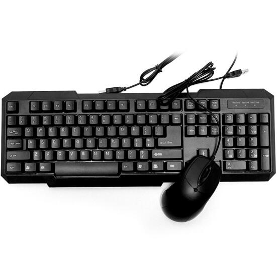 High Quality Waterproof USB wired computer gaming keyboard and mouse