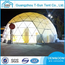 Aluminium Alloy Frame Event Party Dome Geodesic Dome Tent For Slaes