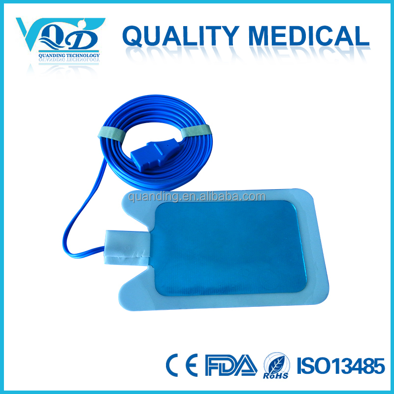electrosurgical disposable ground pads