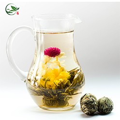 Qing Tou Yi He Red Amaranth Affection Flowering Tea Bomb