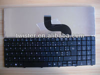 NEW BLACK FR French laptop keyboard for Aspire 5800 5810 5810T 5738 5536 5542 5542G 5410T 5741G 5236 5242 5338 5340 5251 5551