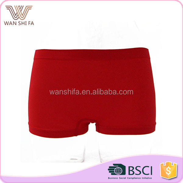 Cute simple design stylish breathable wholesale girls child model panty