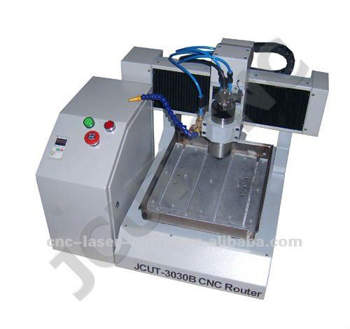 High Precision Mini Desktop Cast Aluminum Structure Ncstudio Control CNC Router for Milling JCUT-3030B