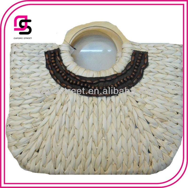 Wholesale cheap Recycle Paper Make Straw Beach handbag bags 2013