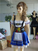 Sexy German Beer Girl Bar Maid Wench Oktoberfest Fancy Dress Costume M L XL XXL