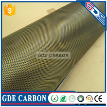 GDE Excellent Performance 3K 6K 12K 200g 300g 600g carbon fiber fabric 100% carbon fibre fabric