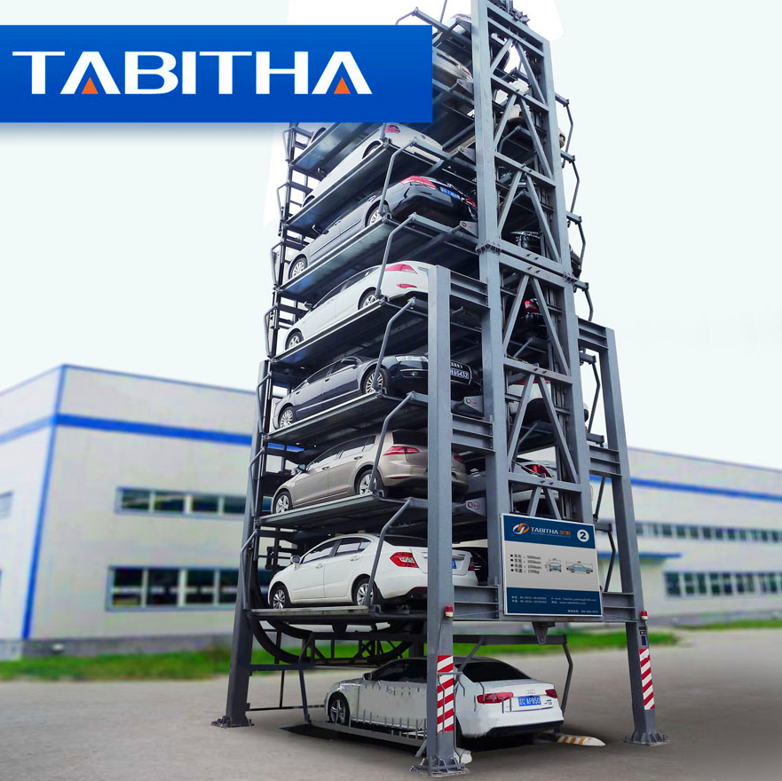 cheaper promotion custom CE car rotary parking system automatic car parking system