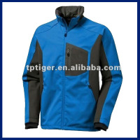 Mens Custom Windproof Outdoor Softshell Jacket Softshell Garment