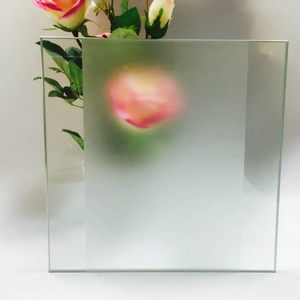 4mm 5mm 6mm china supplier sandblasted tempered glass frosted glass price