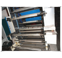 Automatic pp big bag sewing 4 color non woven bag printing machine